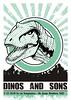 Afiche Dinos&Sons