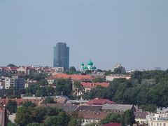 Vilnius skyline from Gediminas Tower