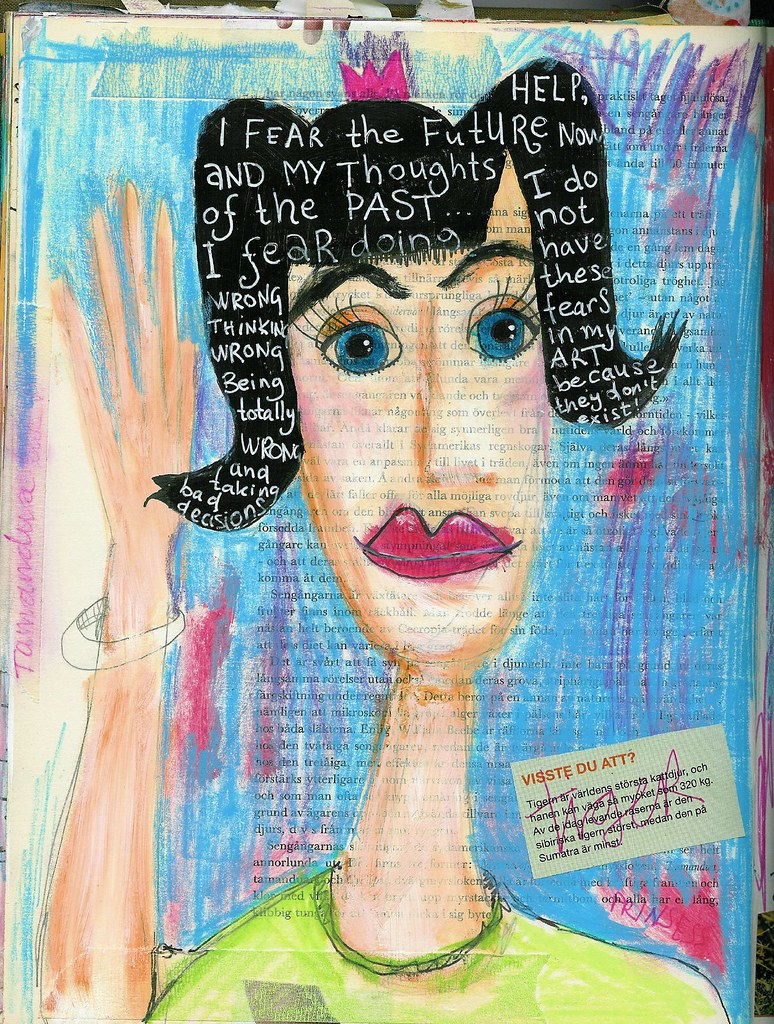 Art Princess, named Fear, in the Art Journal of iHanna