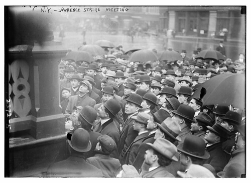 N.Y. - Lawrence strike meeting  (LOC)