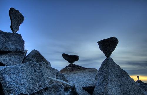 hdr halibutpoint rockbalancing nightbalance