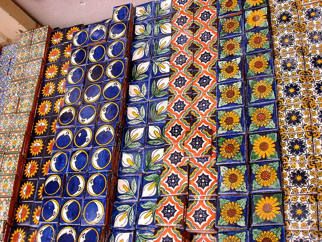 Azulejos en dolores hidalgo guanajuato m xico 2008 01970 for Azulejos mexico