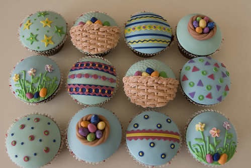 Easter cupcake decorating ideas pictures all things for Cute cupcake decorating ideas for easter