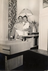 My grandparents at their Brooklyn apartment