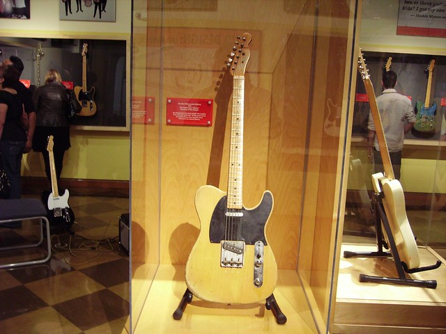 Fender Exhibit: Roy Buchanan's 1953 Fender Telecaster Serial #2324 named Nancy