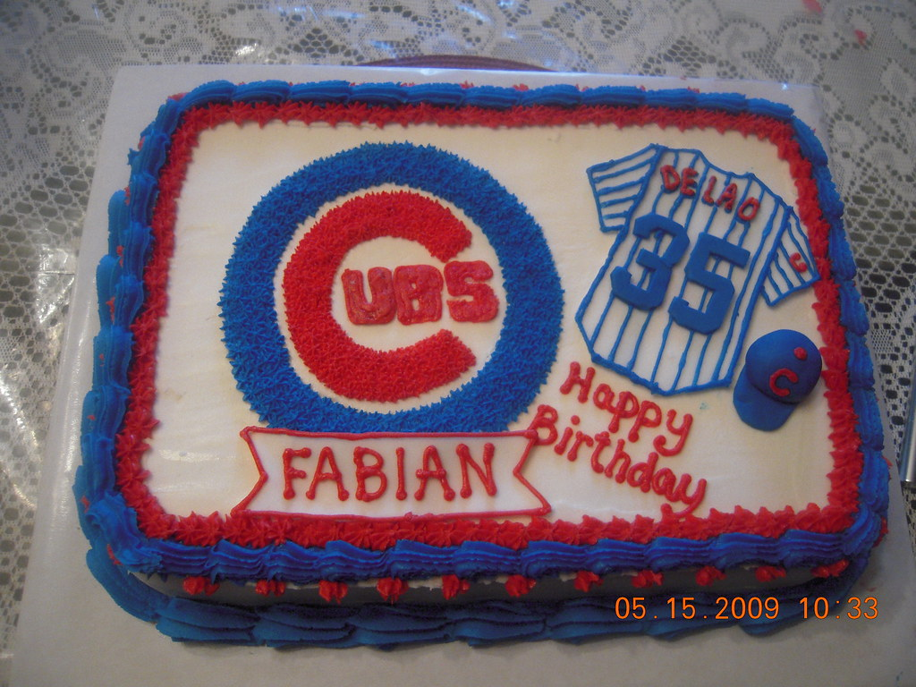 Chicago Cubs Cake A Photo On Flickriver