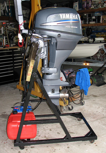 Outboard Motor Stand By K Mcanly Flickr Photo Sharing