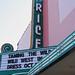 Rice Theatre Sign