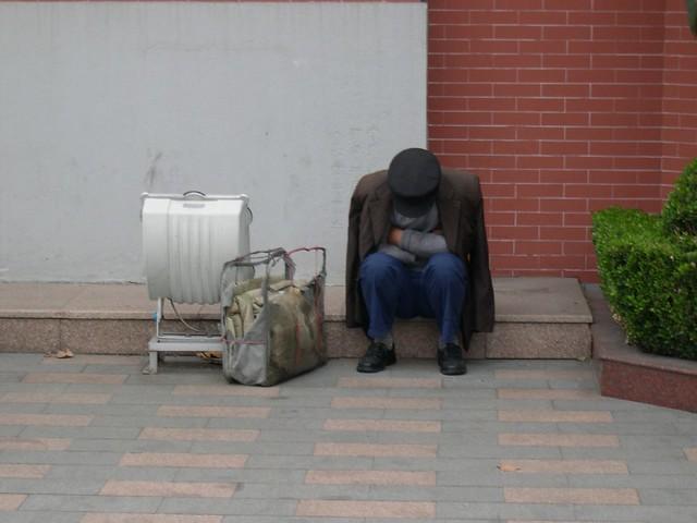 Migration Worker in Shanghai