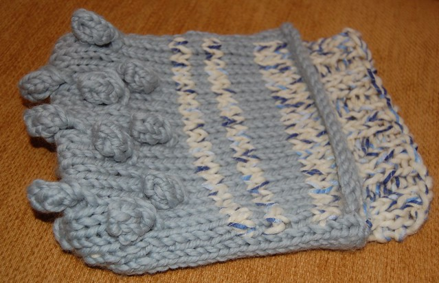 Laptop Bag Knitting Pattern : bobbly knitted laptop bag Flickr - Photo Sharing!