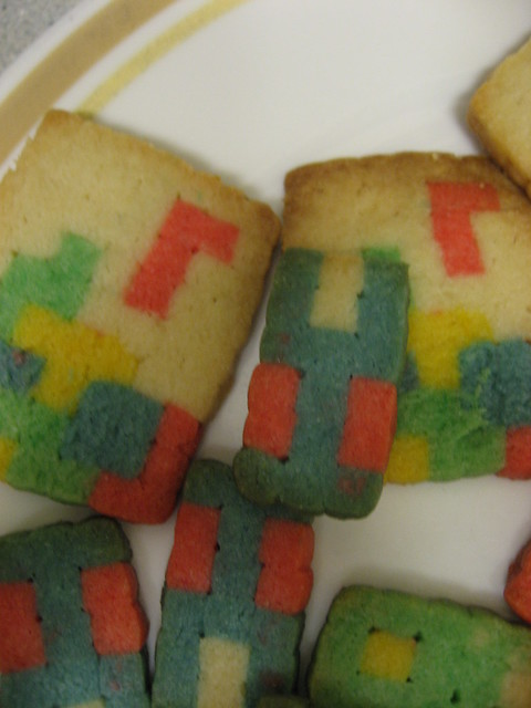 Close-up on some of the cookies