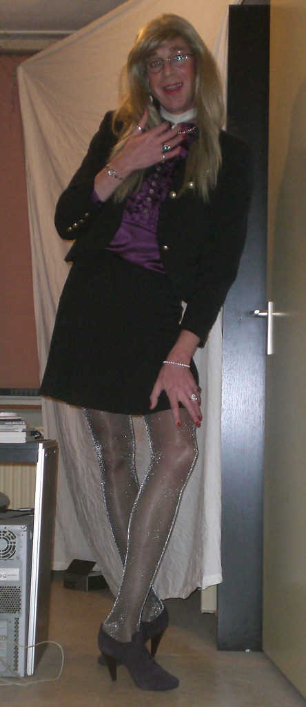 Shiny Opaque Tights
