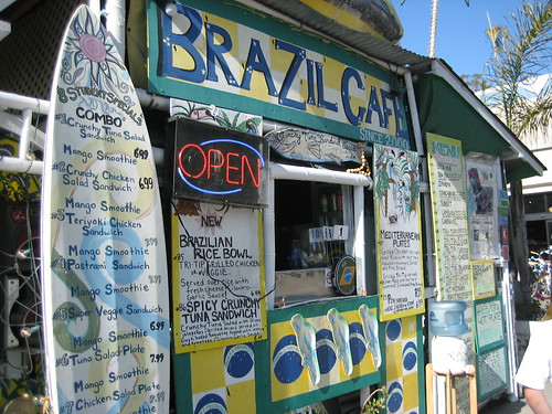 not pictured on this menu: Brazilian waxes, $45