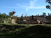 Homes destroyed by the Witch Fire in Rancho Bernardo (San Diego) - October 2007