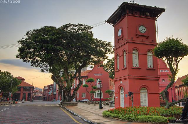 Clock Tower Malacca @ 7:15