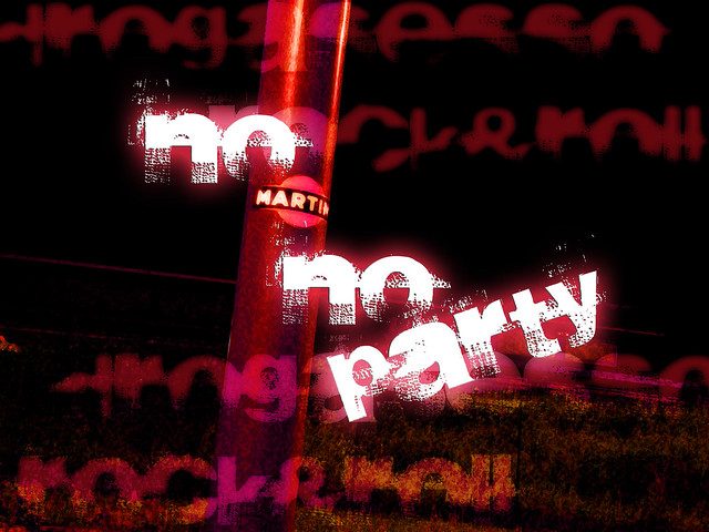 Hey, No Martini no Party!