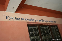 izglītības pēdiņām