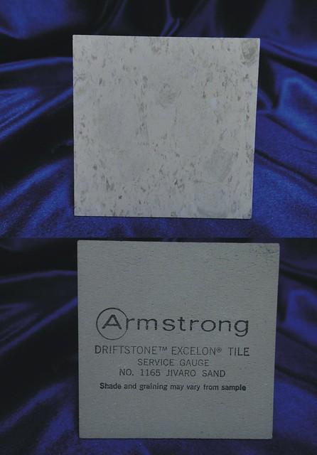 Armstrong Driftstone Excelon Vinyl Asbestos Floor Tile
