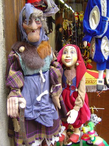 Marionetes - Praga by Beija-flor