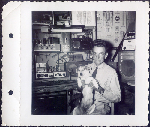 Fred Ragland and dog Larry