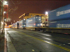 Cargo train, oakland