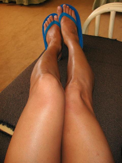 Частные фото женских ног