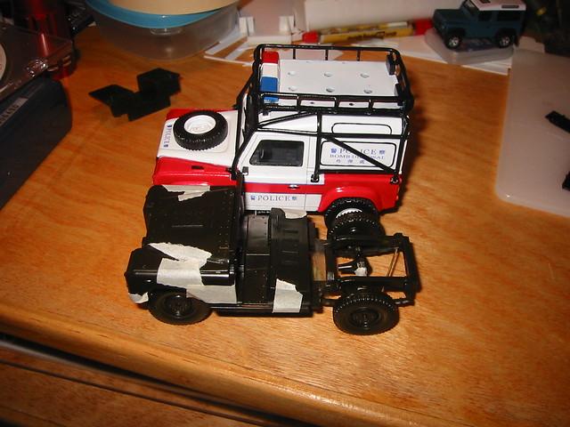 1/35 Land Rover Defender 90 (& my conversion)