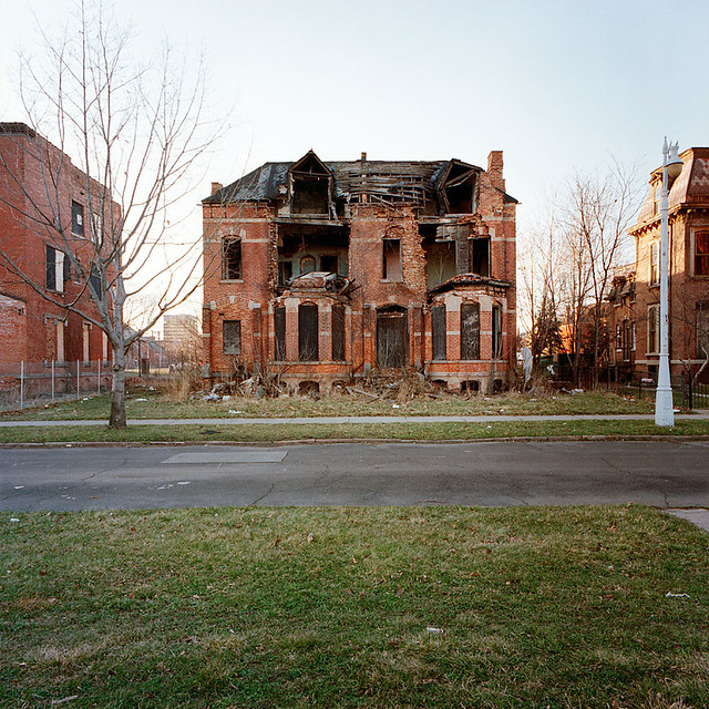 Abandoned House In Brush Park Detroit Michigan Flickr