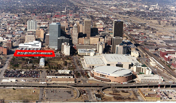 Oklahoma city devon tower 844 ft 54 fl completed for Build on your lot oklahoma