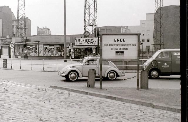 Potsdamer Platz, Berlin, c.31 July 1960