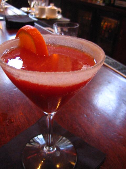 blood orange cocktail | Flickr - Photo Sharing!