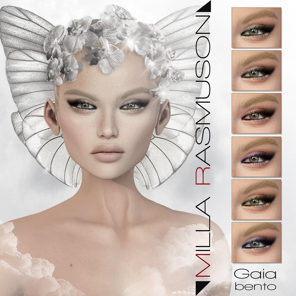 Gaia Bento for Lelutka Head - SecondLifeHub.com