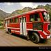 russian-red-bus-caucasus