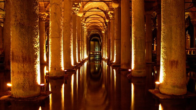 The Basilica Cistern..