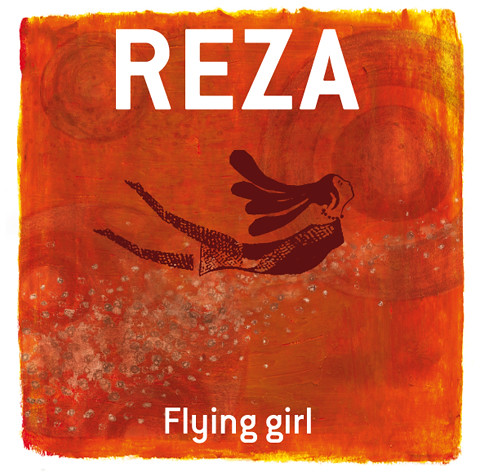 CD cover illustration for REZA Flying girl 2006