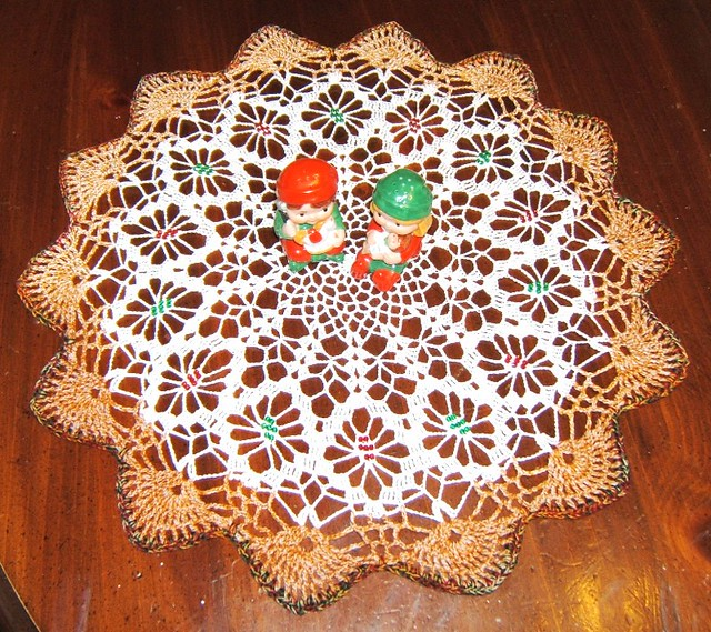 CHRISTMAS DOILY for BEN -BARB 057