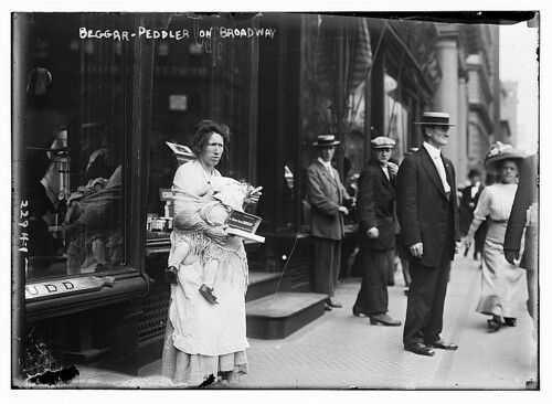 Beggar - Peddler on Broadway  (LOC)