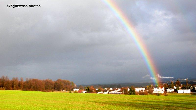 Rainbow over Feldbrunnen