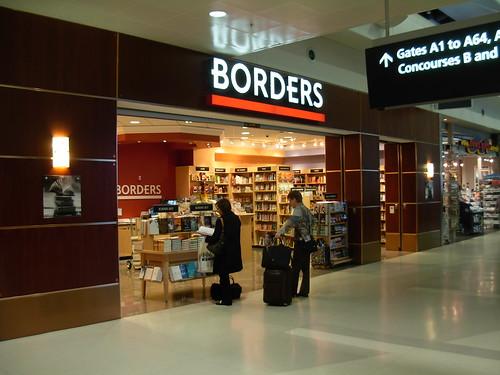 Borders Books Detroit Airport