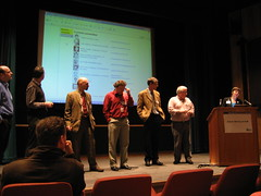 Committee members at the MCG AGM 2006