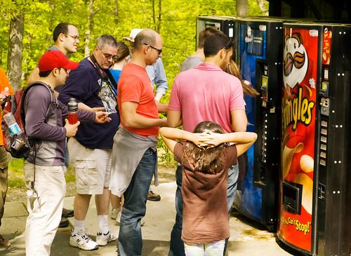 Mid-Hike Vending Machine?