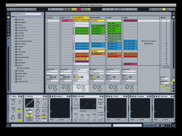 Photo:Ableton Live setup (fri-son) By furibond