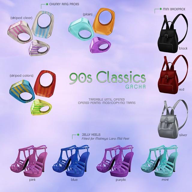 Decoy 90s Classics Gacha
