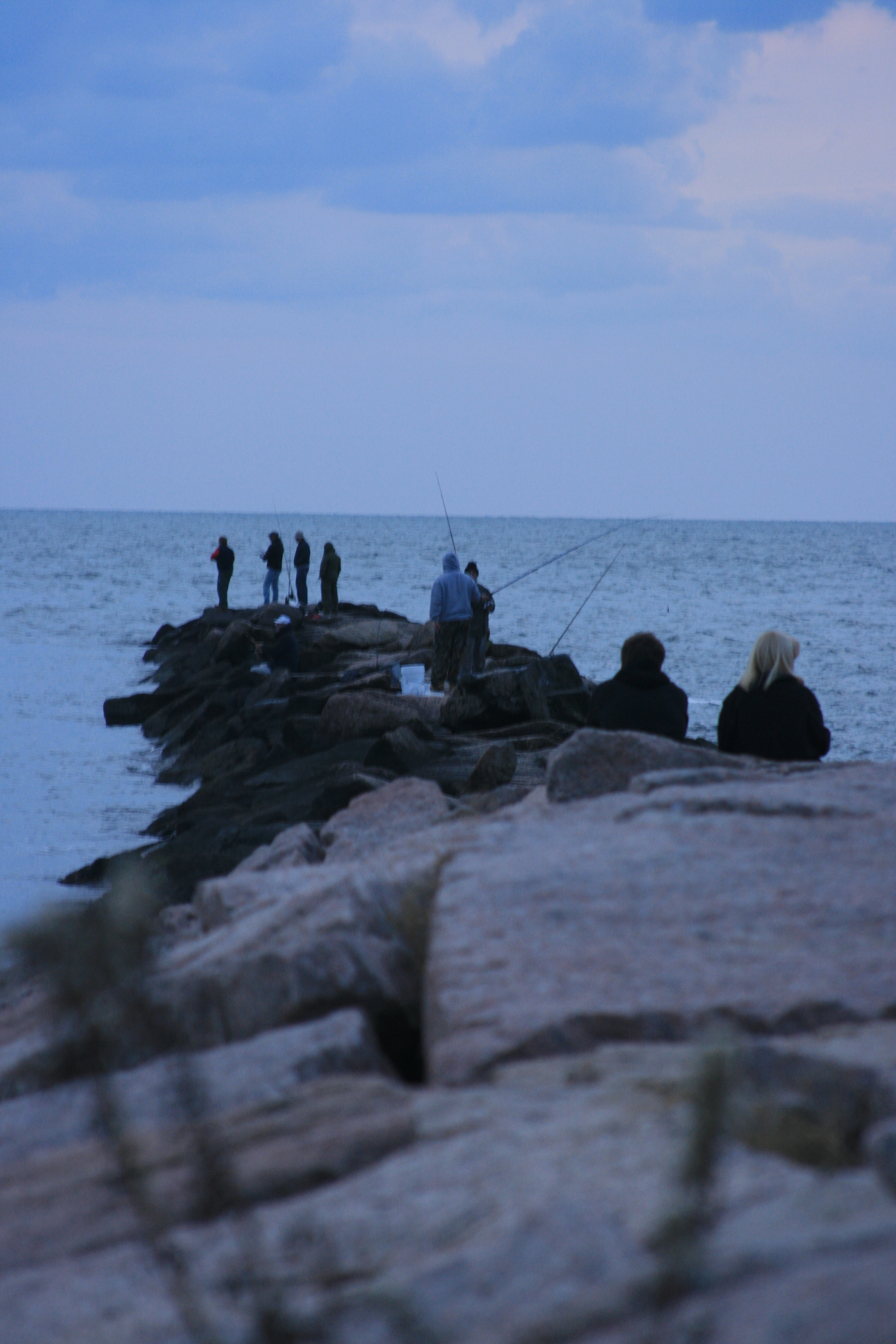 Fishing from jetty into long island sound flickr photo for Long island sound fishing