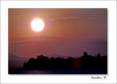 tramonto sulla Polvese #5