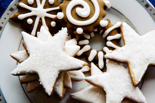 Star and Snowflake Cookies