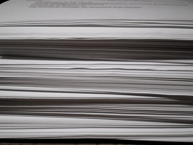 Pages.  Reams, really.