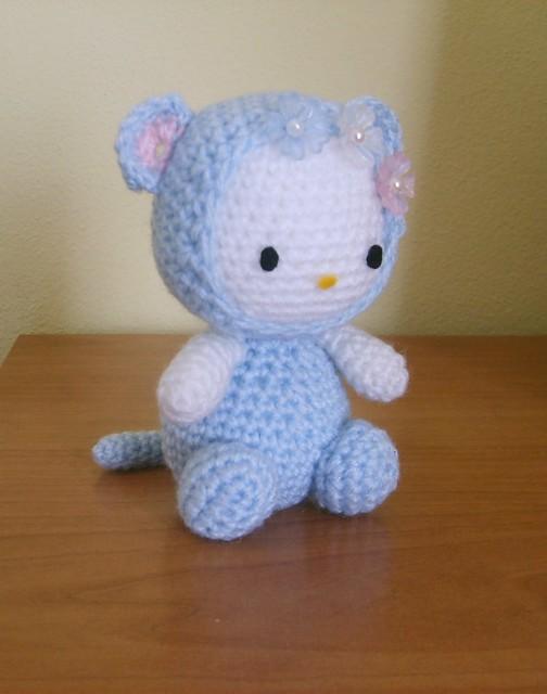 Hello Kitty Mariposa Amigurumi : Amigurumi crochet Hello kitty Blue Mouse Explore ...