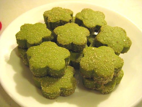 Green Tea Cookies 2.0