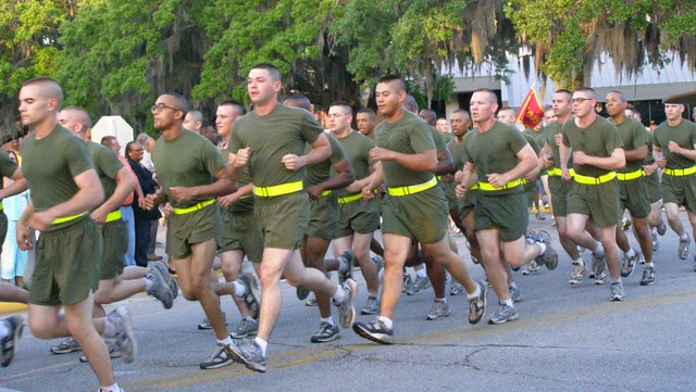 USMC Parris Island Boot Camp